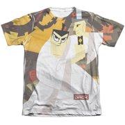 Samurai Jack Eternal Foes Mens Sublimation Shirt