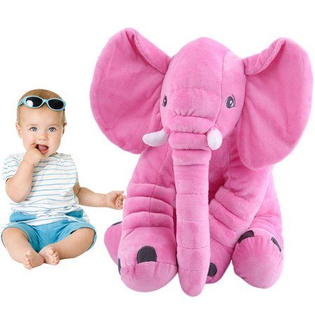 Stuffed Animals For Babies,Plush Elephant Pillow, Baby Elephant Pillow, Kids Pillows For Boys Girls - Birthday Stuff For Girls