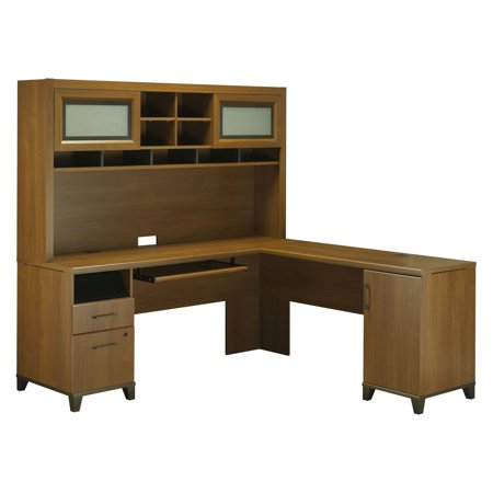 office connect achieve collection l shaped computer desk with file drawer and optional hutch. Black Bedroom Furniture Sets. Home Design Ideas