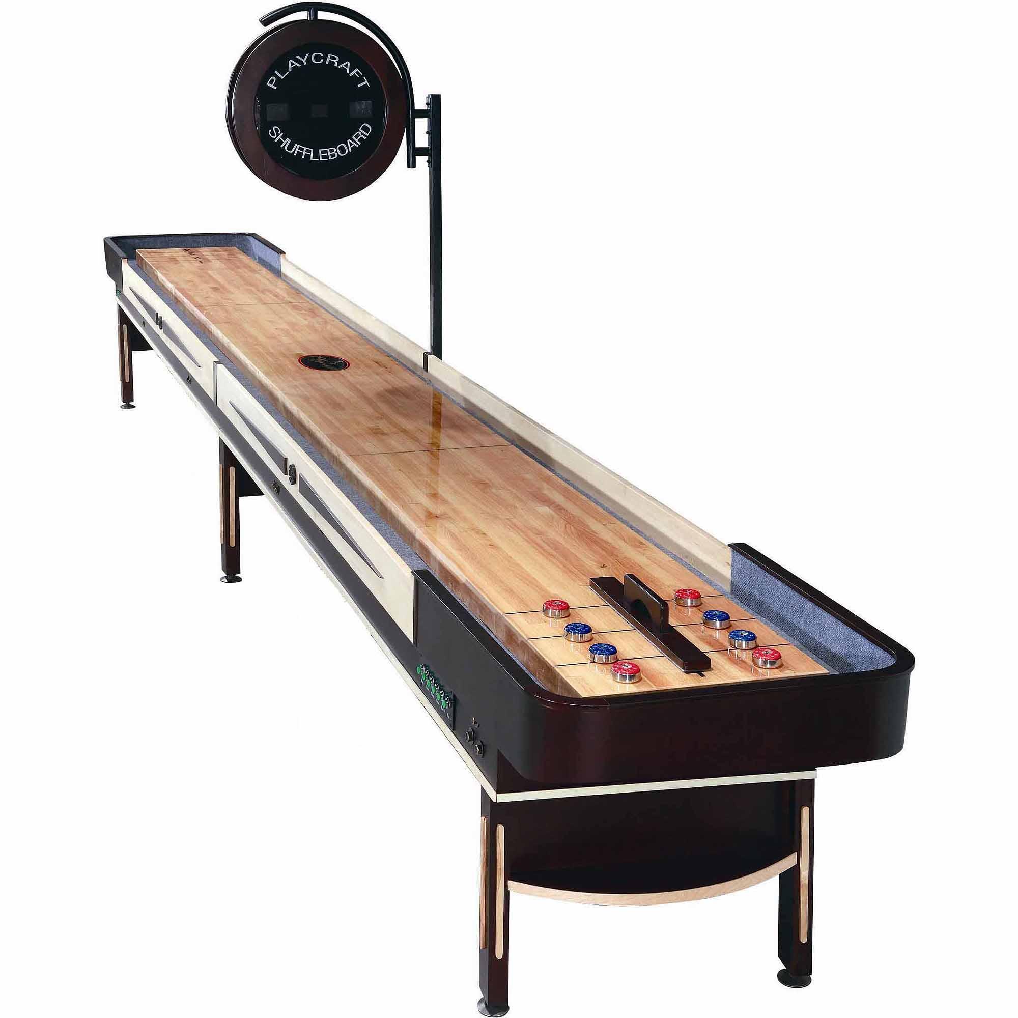 Playcraft Telluride Espresso 12' Shuffleboard Table