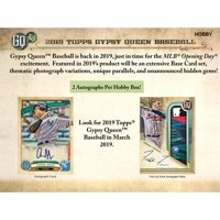 2019 Topps Gypsy Queen Hobby Edition Factory Sealed 24 Pack Box