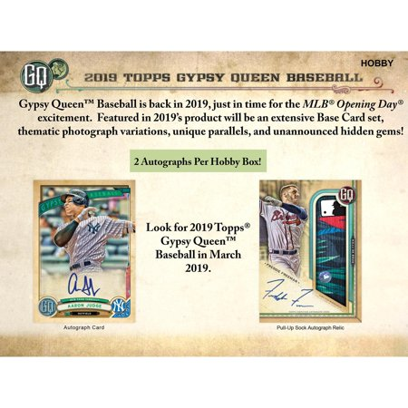 2019 Topps Gypsy Queen Hobby Edition Factory Sealed 24 Pack Box 24 Pack Hobby Box