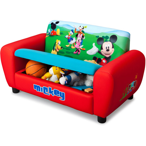 Disney Mickey Mouse Sofa With Storage   Walmart.com
