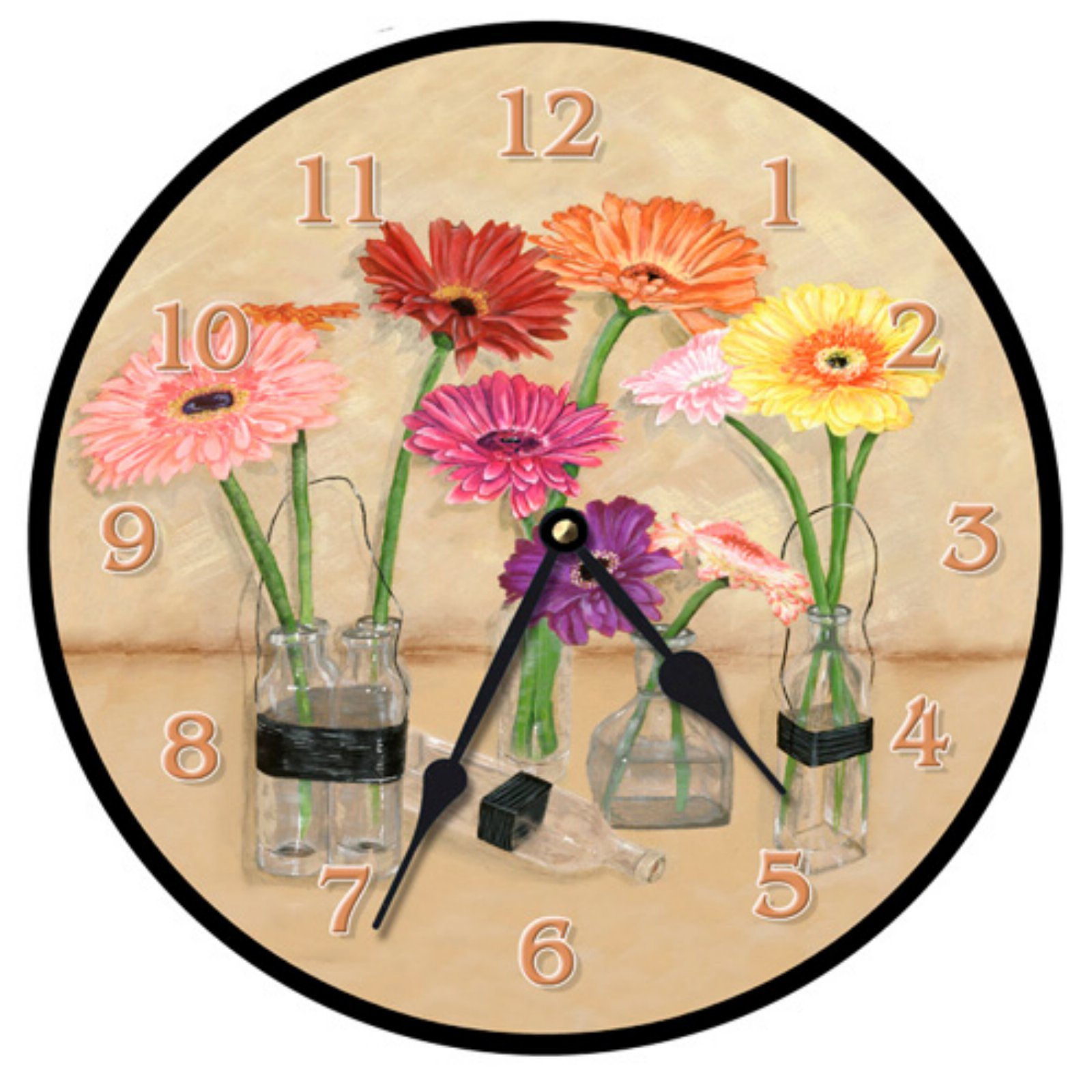 Lexington Studios Gerber Bottles Wall Clock