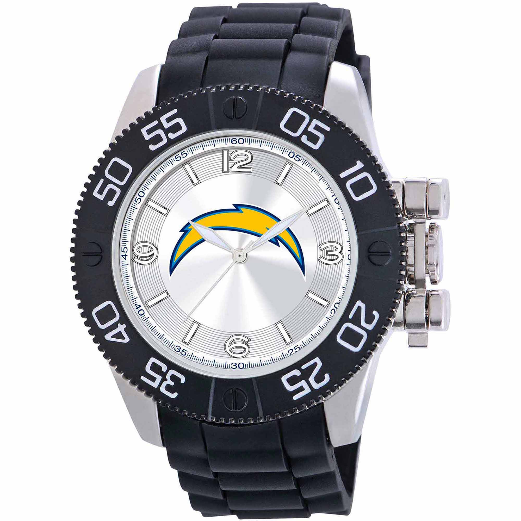 Game Time NFL Men's San Deigo Chargers Beast Series Watch