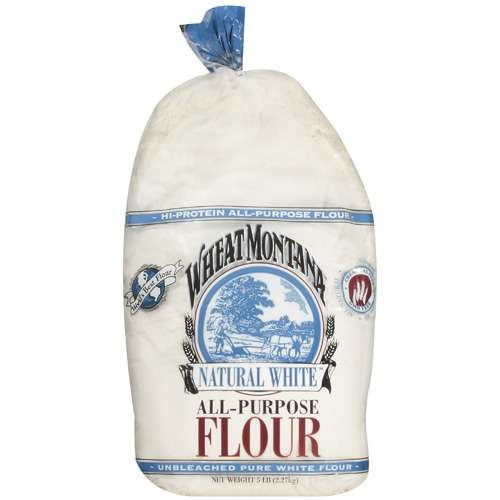 Wheat Montana Natural White All-Purpose Flour, 5 Lb