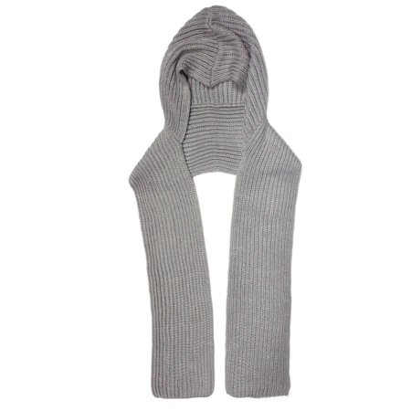 City Hunter H310 6 Ways to wear Hood Scarf Version 2 (Light Grey)