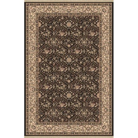 Dynamic Rugs BR247211090 Brilliant 2 ft. 2 in. x 4 ft. 3 in. 7211-090 Rug - Black - image 1 of 1