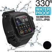 Catalyst Waterproof Case for Apple Watch 40mm Series 4, Hypoallergenic, Quick Release, Breathable, Waterproof 330ft, Military Grade -Accessories for Apple Watch 40mm