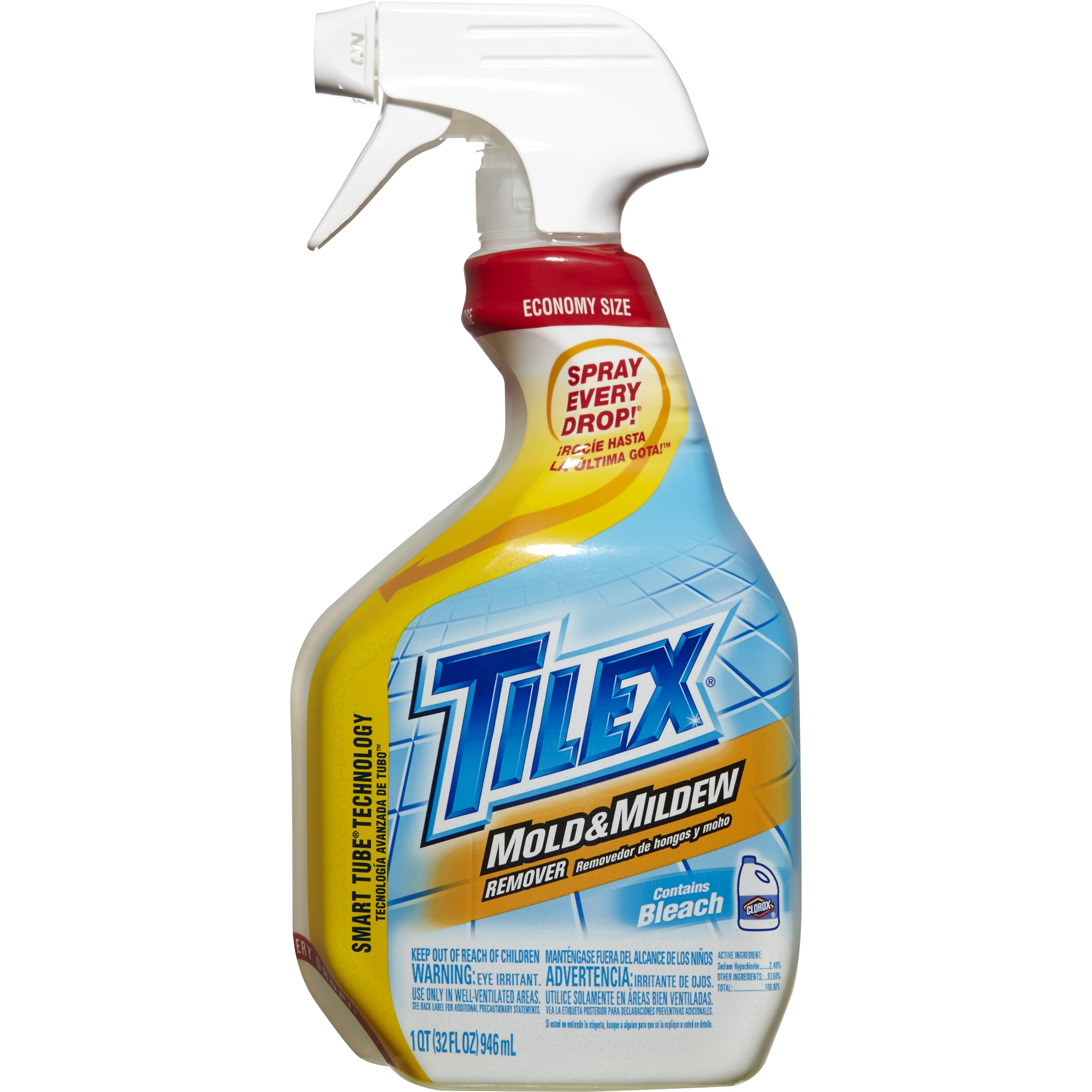 Tilex Mold and Mildew Remover, Spray Bottle, 32 Ounce