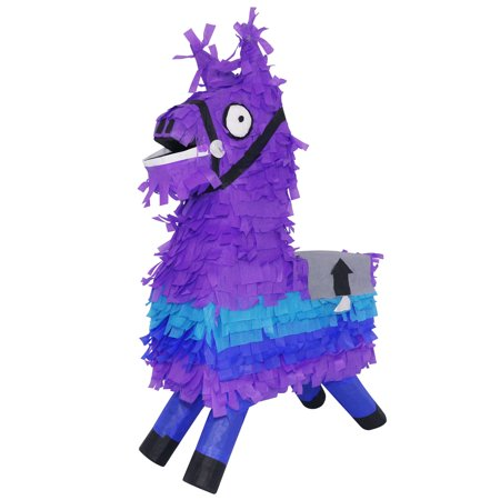 Themed Props For Sale (Lutema Loot Llama Pinata for Gaming Themed Parties, Photo Prop, Piñata)