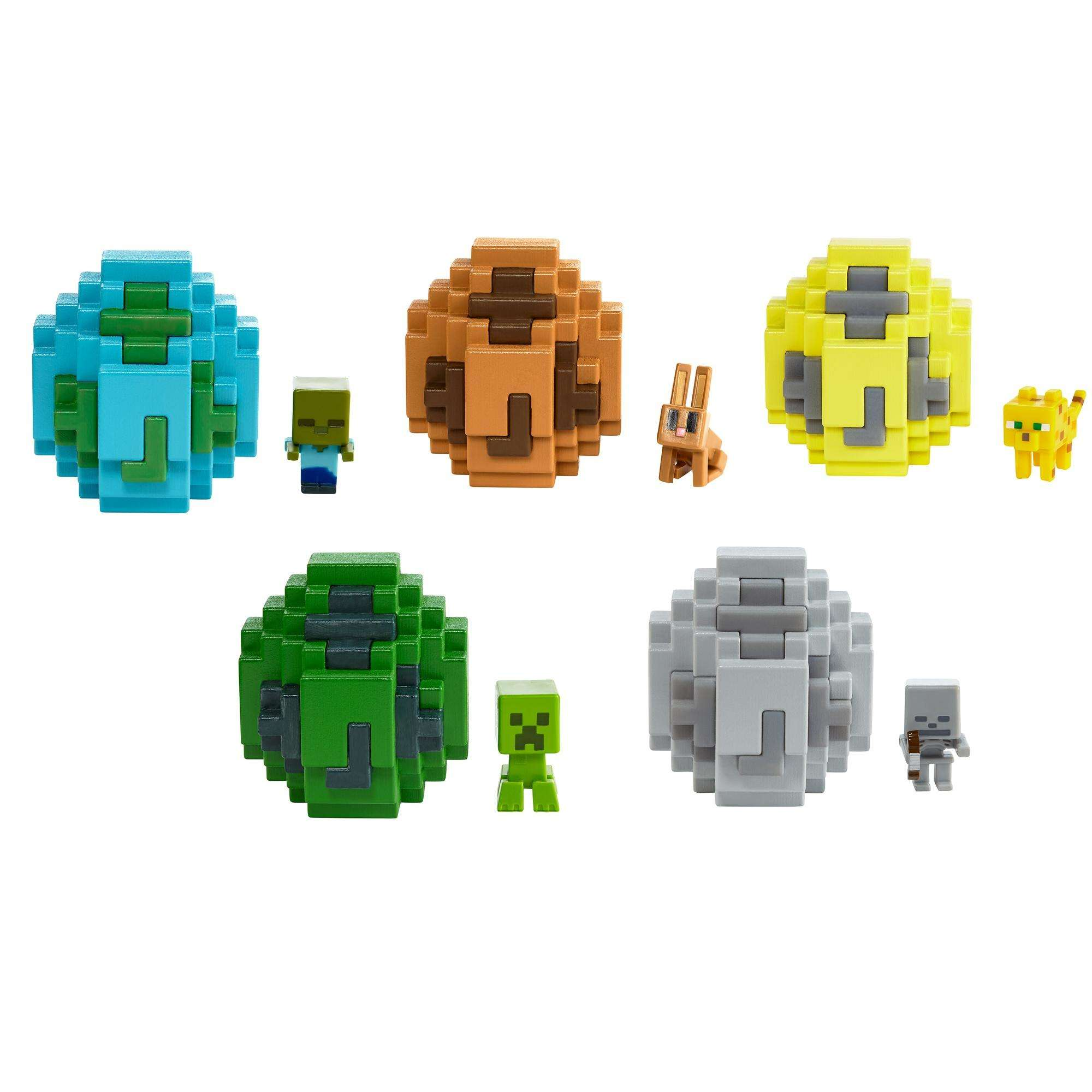 Minecraft Spawn Egg Mini Figure (Styles May Vary)
