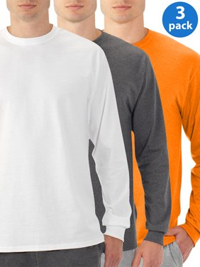 Product Image Men S Eversoft Long Sleeve Crew T Shirt With Ribbed Cuffs