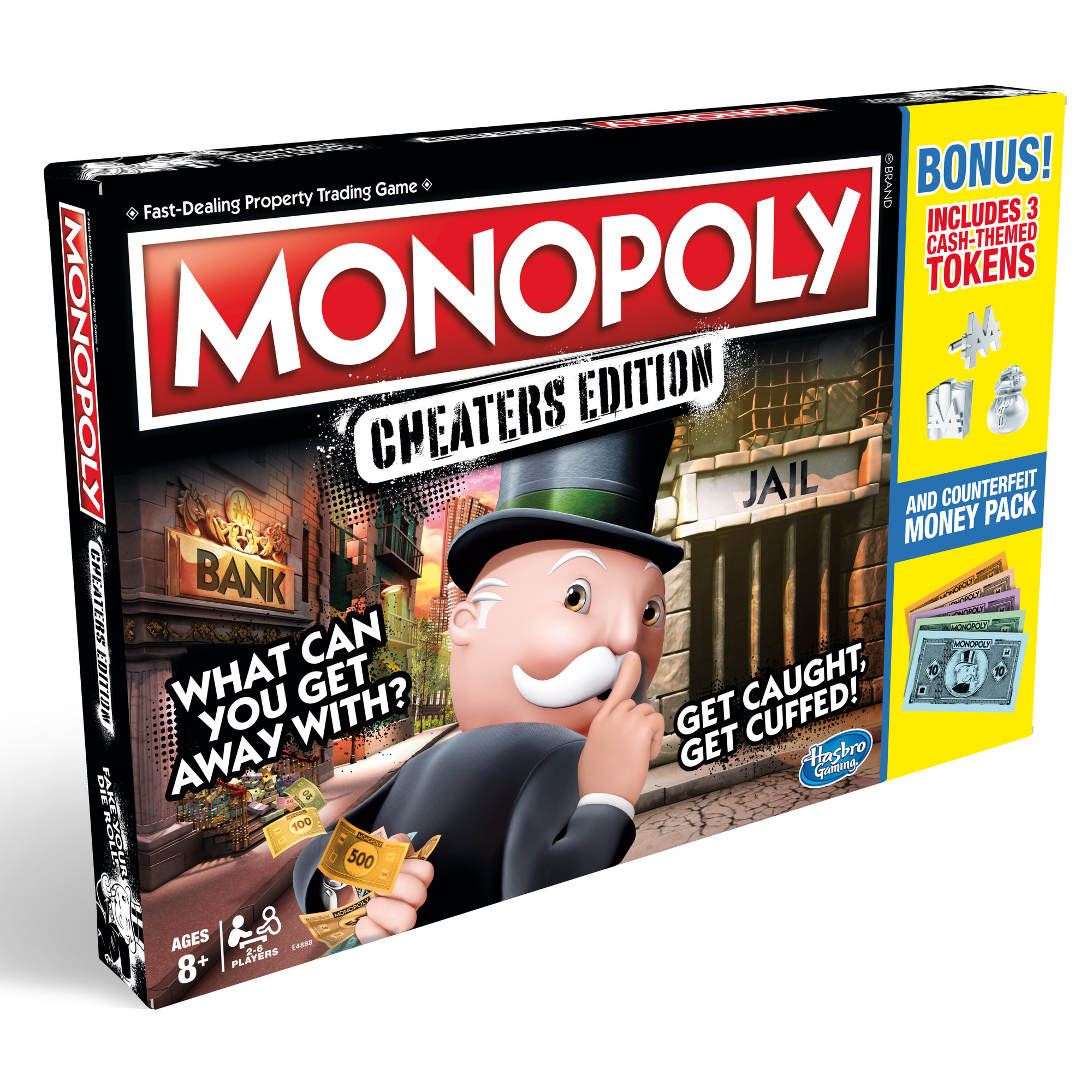 monopoly cheaters edition how many players