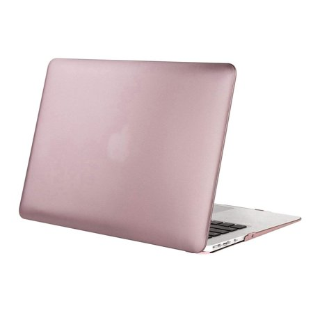 more photos c7e2f cd5d0 Mosiso Laptop Plastic Hard Cover Case for Macbook Air 13 inch( A1466/A1369  2010-2017 Only),Rose-Gold