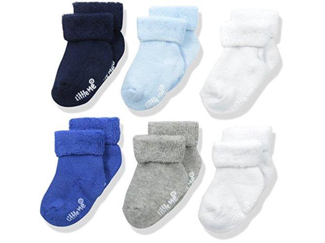 Little Me Baby Boys 6 Pack Socks