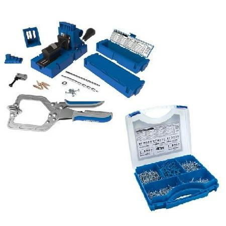 Kreg Jig K5 Master System with free SK03 675pc Screw Kit