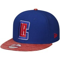 LA Clippers New Era Current Logo Team Solid 9FIFTY Snapback Adjustable Hat - Royal/Red - OSFA