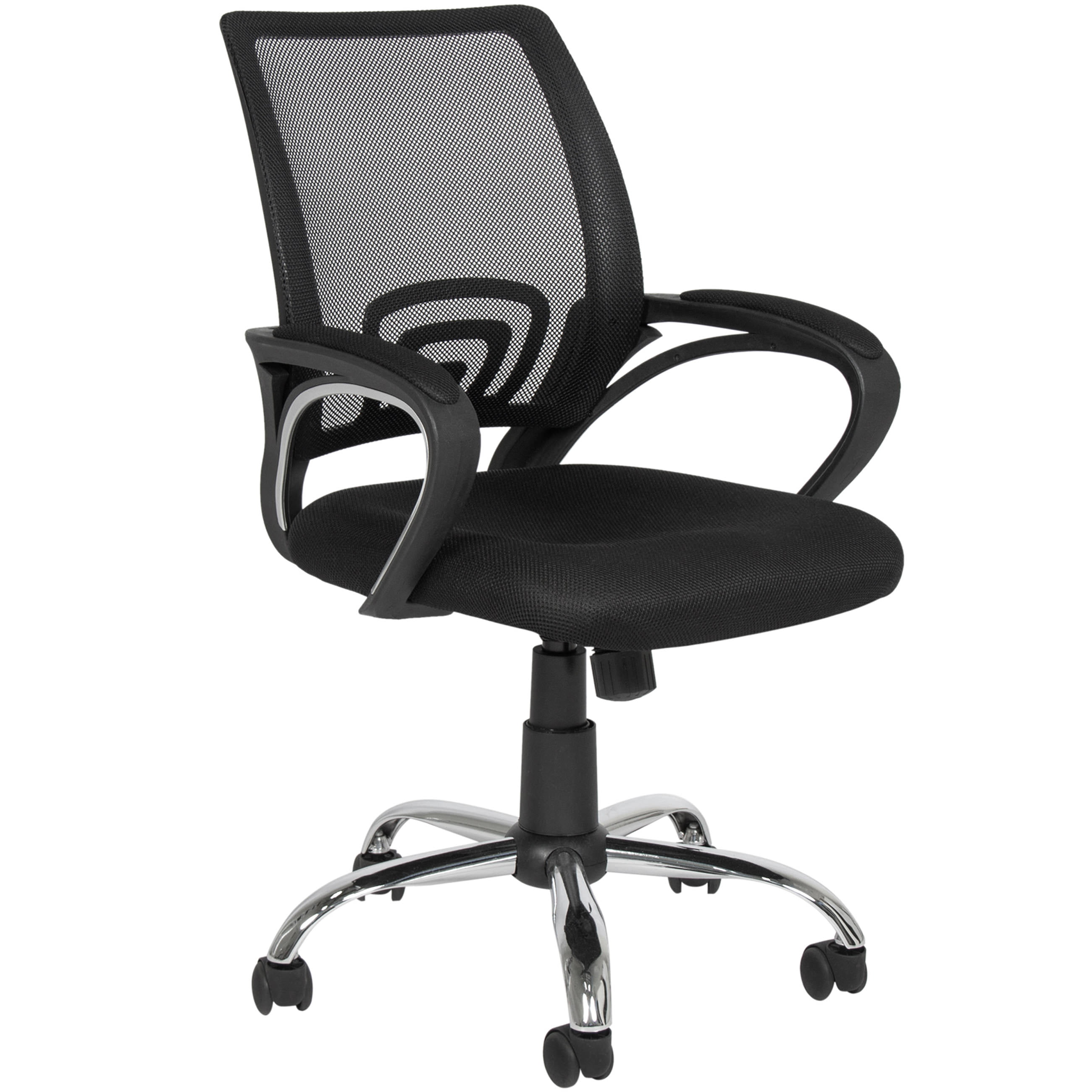 Office Chair Armrest Best Choice Products Ergonomic Mesh Computer Office Desk Task Midback Task  Chair w-Metal Base New - Walmart.com