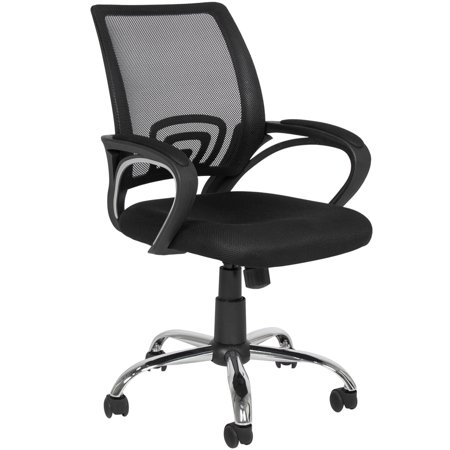 Best Choice Products Ergonomic Mesh Computer Office Desk Task Midback Chair W Metal Base