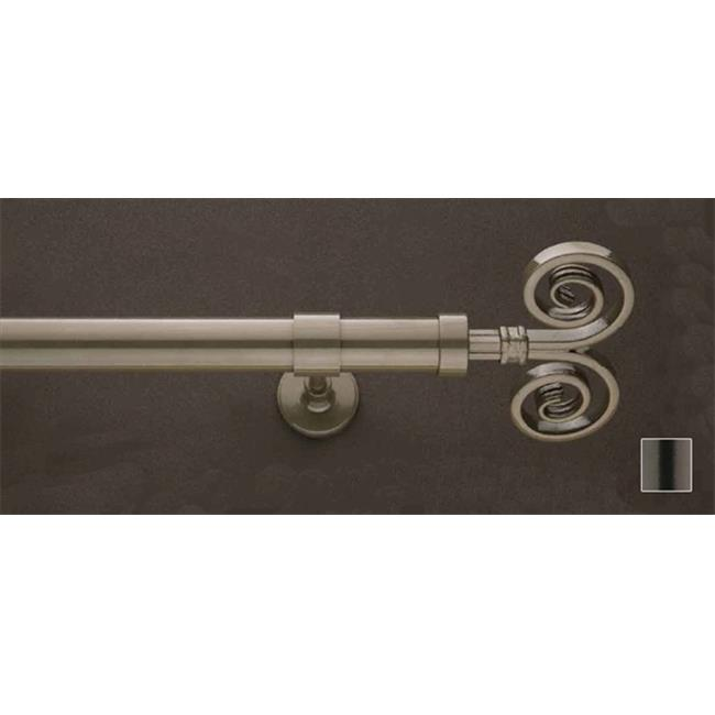 WinarT USA 8. 1174. 25. 35. 360 Feronia 1174 Curtain Rod Set - 1 inch - 141 inch