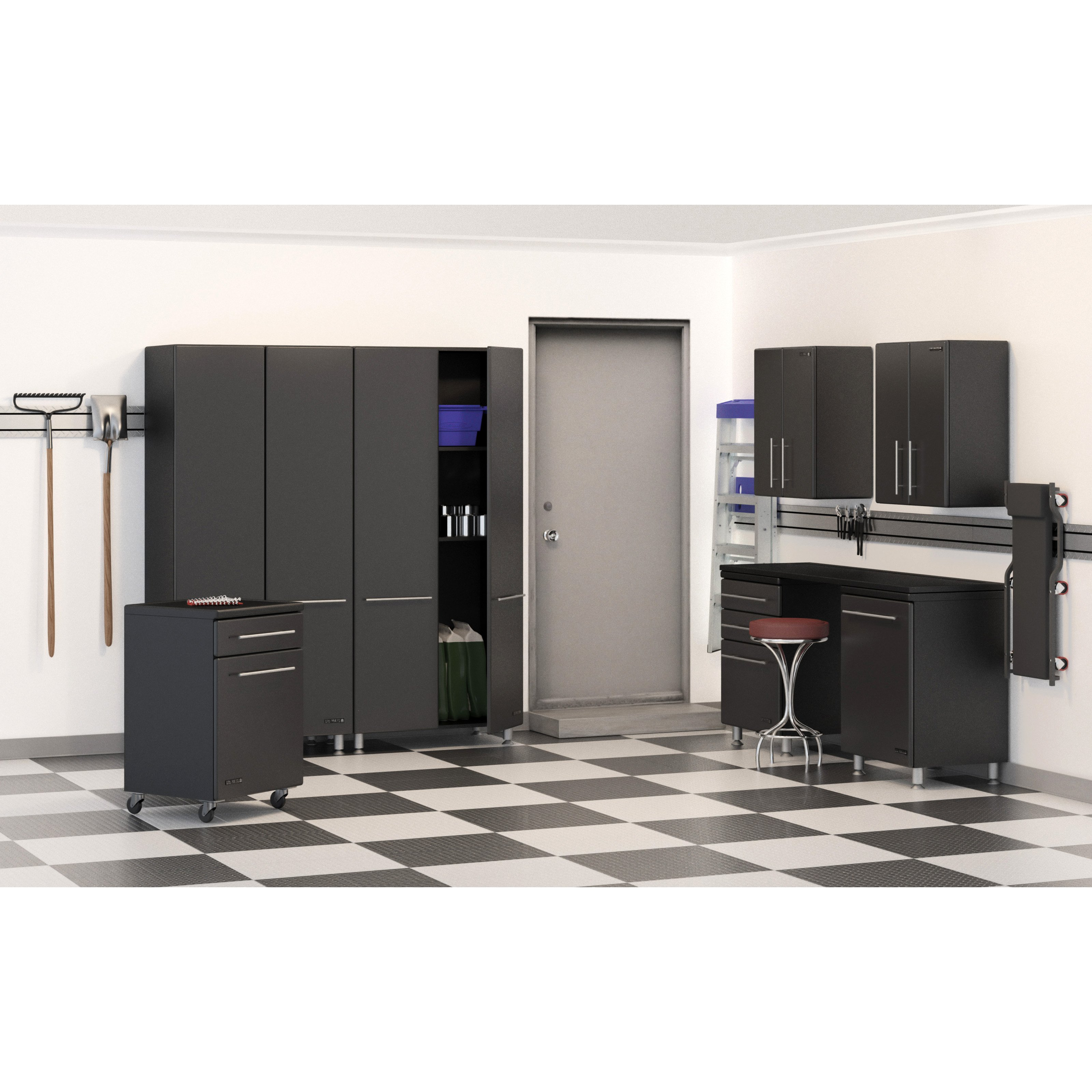 Ulti-MATE 8 pc. Garage Storage System by Ultimate Garage