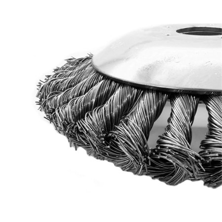 Lawn Mower Weeding Head Steel Wire Weeding Brush Twisted Wire Bowl Type - image 5 of 8