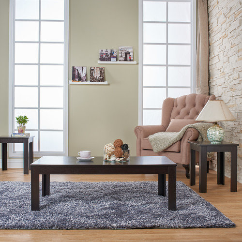 Hokku Designs Upton 3 Piece Coffee Table Set
