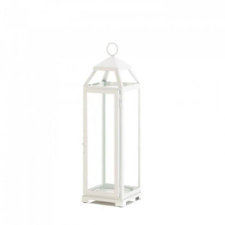 Gallery of Light 10018646 Open Top Lantern - Country White, Large - image 1 de 1