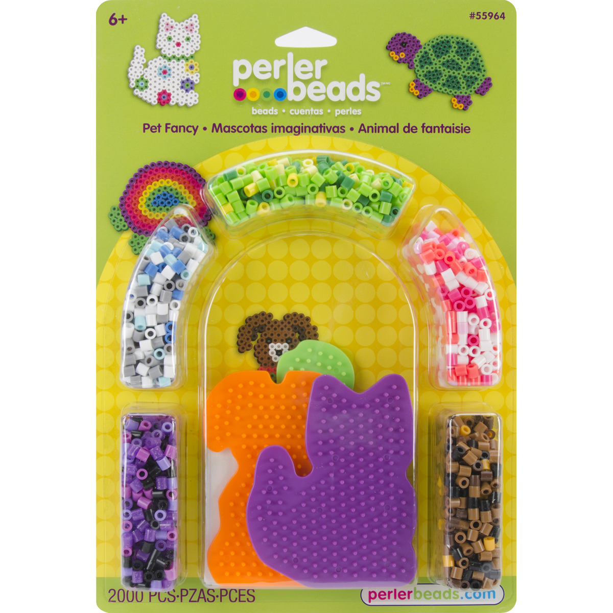 Perler Fun Fusion Fuse Bead Activity Kit, Pet Fancy