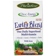 Paradise Herbs Earth's Blend Superfood Daily Multivitamin, 60 CT