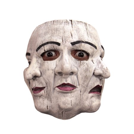 Commedia Di Papiere Adult Mask (Scherzi Di Halloween)