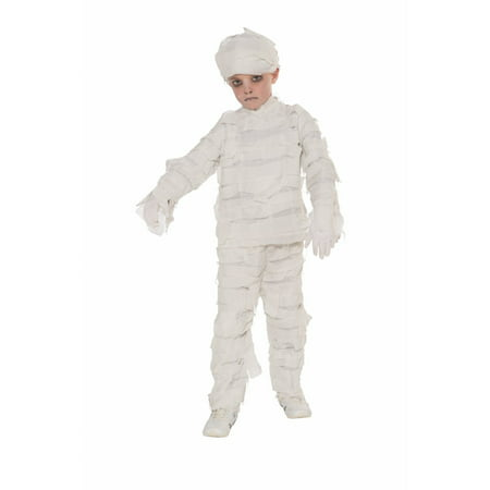 Child Mummy Costume - Mummy Halloween Face