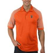 San Francisco Giants Antigua Engage Polo - Orange/White