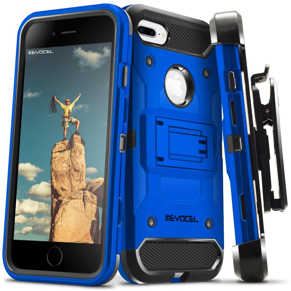 Evocel® Tri-Layer Protector Case for iPhone 7 Plus, iPhone 6 Plus, and iPhone 6s Plus, Jet Black