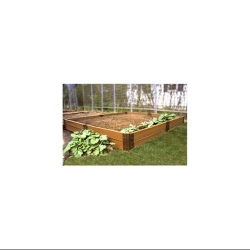 Two Inch Series 8ft. x 8ft. x 11in. Composite Raised Garden Bed Kit