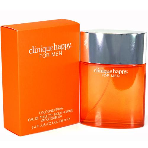 Clinique Happy Men - Happy By Clinique For Men. Cologne Spray 3.4 Ounces