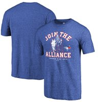 Toronto Blue Jays Fanatics Branded MLB Star Wars Join The Alliance Tri-Blend T-Shirt - Royal