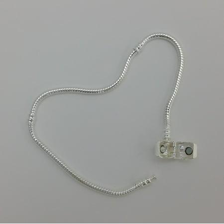 Platinum Plated Charm - 1 Bracelet - 9