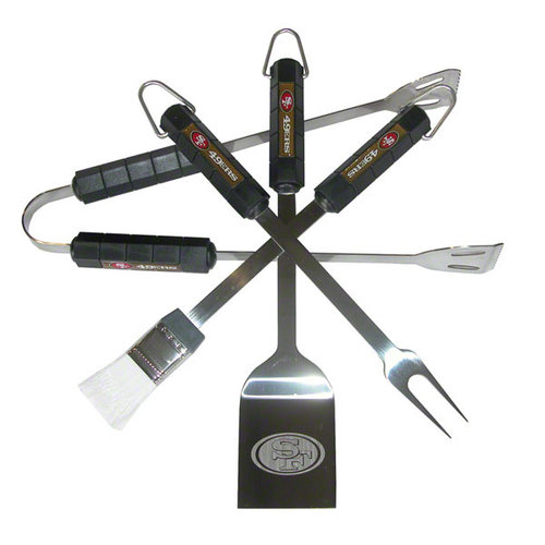 NFL - San Francisco 49ers 4 Piece BBQ Set