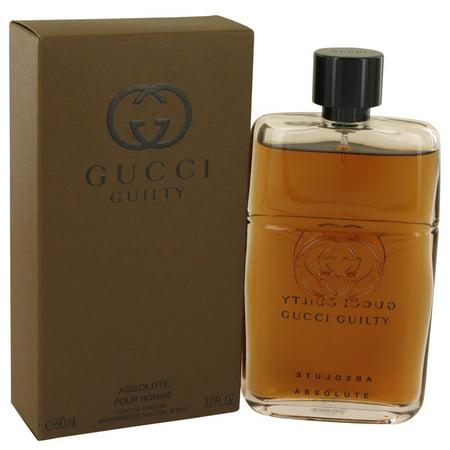 9b9123274 Gucci - Gucci Gucci Guilty Absolute Eau De Parfum Spray for Men 3 oz -  Walmart.com