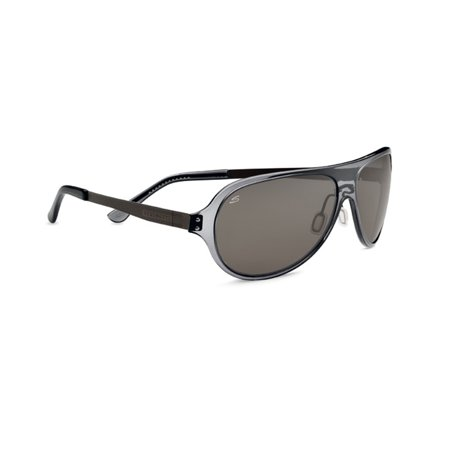 Cosmo Alice Sunglasses Crstl Gry/Plzd Drivers (Serengeti Ladies Sunglasses)