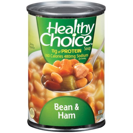 Healthy Choice Soup Bean & Ham, 15.0 OZ