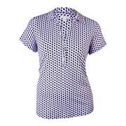 Charter Club Women's Pattern Print Jersey Blouse