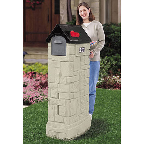Step2 MailMaster Post Mounted Mailbox Rain Overhang
