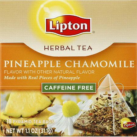 Lipton Caffeine Free Pineapple Chamomile Herbal Tea Bags