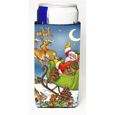 Christmas Santa Taking Off Michelob Ultra Can coolers for Slim Cans - image 1 de 1