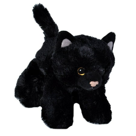 Black Cat Mini Hug 'Ems 7 inch - Stuffed Animal by Wild Republic (18089) - Cheap Cat Stuffed Animals