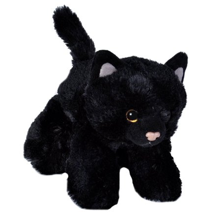 Black Cat Mini Hug 'Ems 7 inch - Stuffed Animal by Wild Republic (18089)