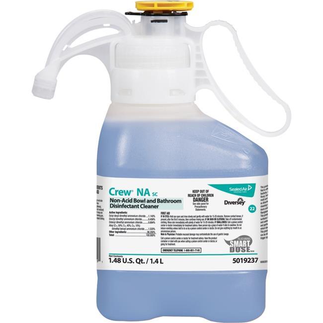 Diversey DVO5019237CT Restroom Floor & Surface Cleaner, Blue